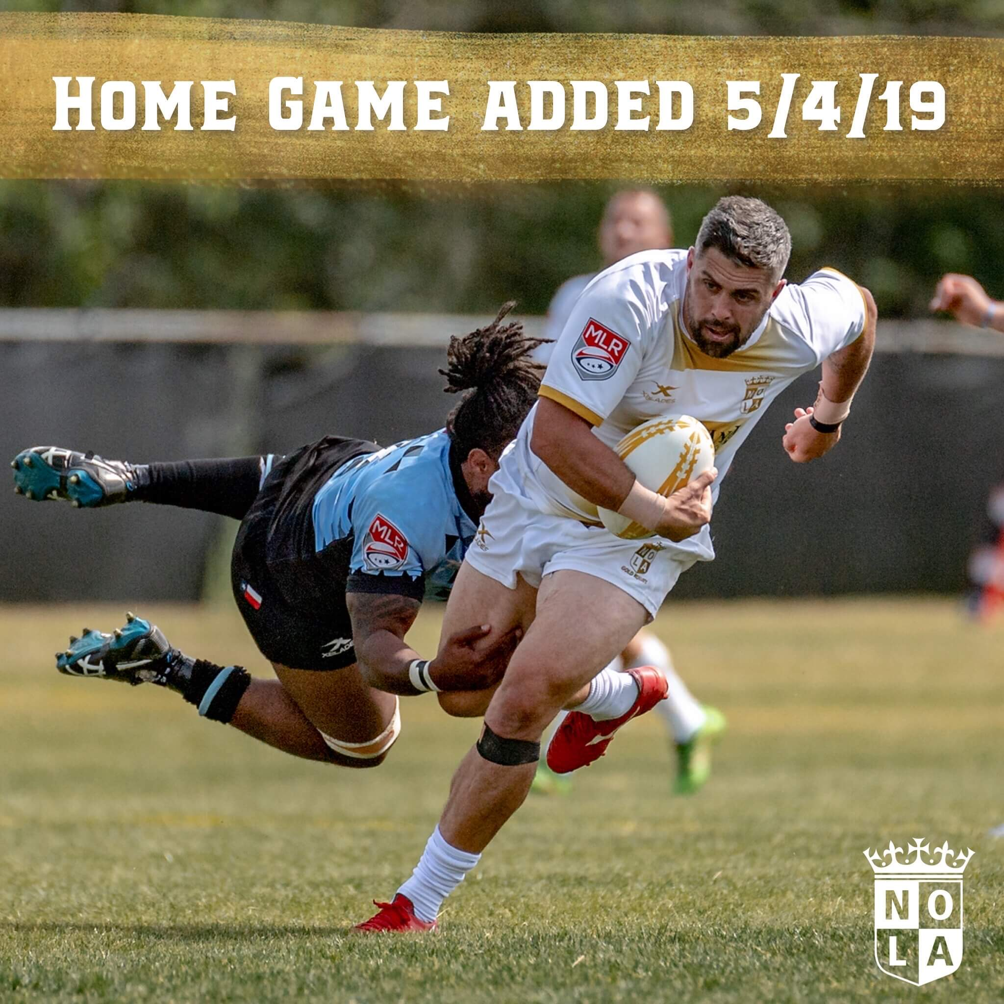 GAME UPDATE: NOLA to host Austin Elite on May 4th