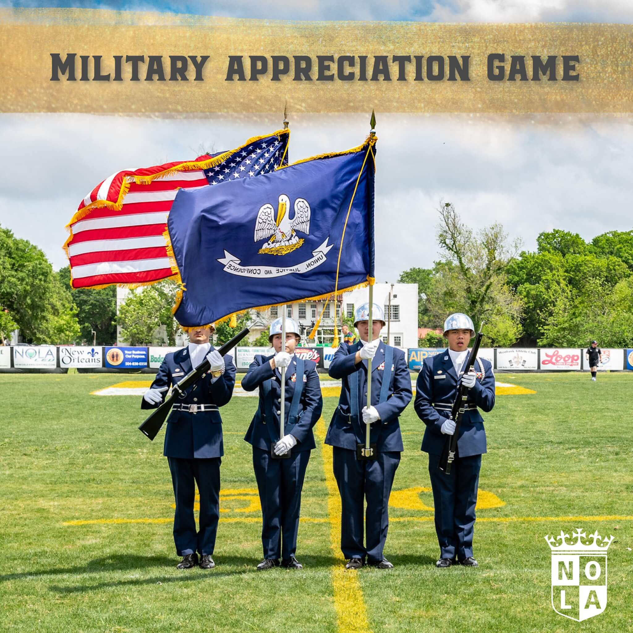 Military Appreciation Day at Gold Stadium