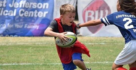 Youth Clinic with NOLA Gold & Louisiana Rugby